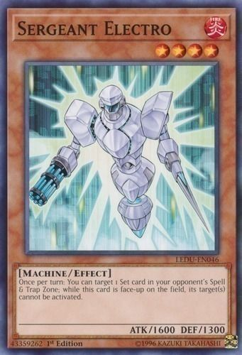Duel Links Card: Sergeant%20Electro