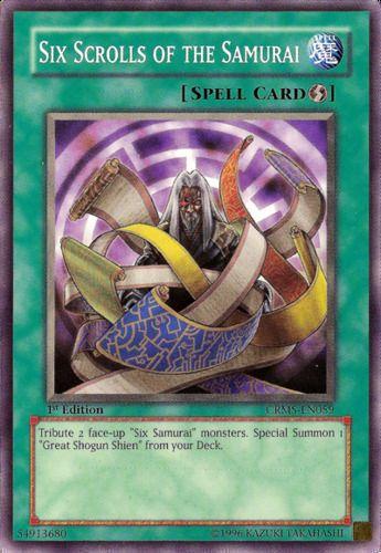 Duel Links Card: Six%20Scrolls%20of%20the%20Samurai