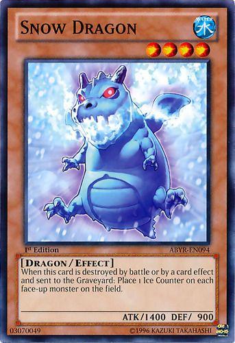 Duel Links Card: Snow Dragon