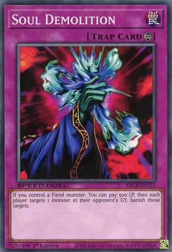 Duel Links Card: Soul Demolition