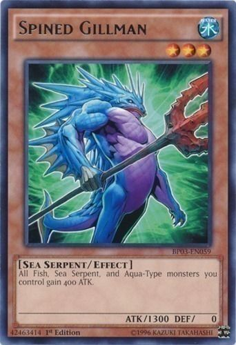 Duel Links Card: Spined%20Gillman