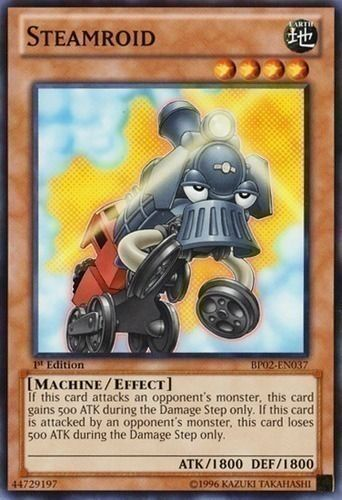 Duel Links Card: Steamroid