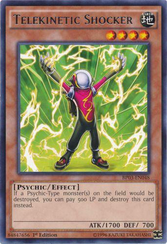 Duel Links Card: Telekinetic Shocker