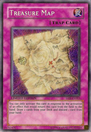 Duel Links Card: Treasure Map