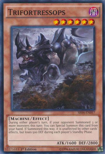 Duel Links Card: Trifortressops