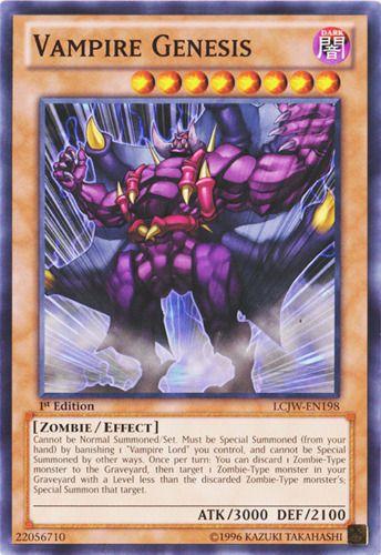 Duel Links Card: Vampire Genesis