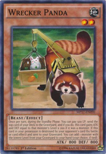 Duel Links Card: Wrecker Panda