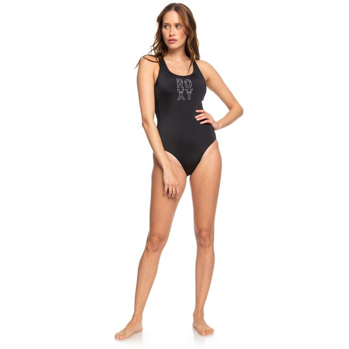 ROXY FITNESS BSC ONE PIECE ERJX103236-KVJ0 Ανθρακί