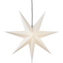 Adventsstjärna vit papp 70 cm