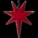 Adventsstjärna betlehem röd papp