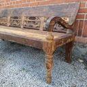 Antik soffa i teak #71