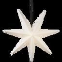 Adventsstjerne hvid papir 70 cm