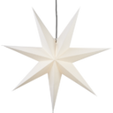 Adventsstjerne hvid papir 100 cm