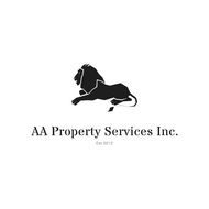 AA PROPERTY  SERVICES  logo