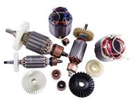Якоря, статоры, коллекторы, крыльчатки для электроинструмента