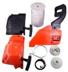 Крышки стартера, тормоза, шкивы, шнуры, спирали-амортизаторы плавного пуска