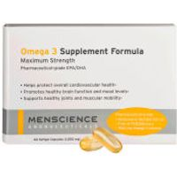 Menscience Omega 3 Supplements - 60 capsules