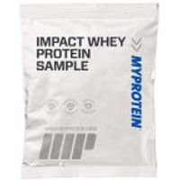 Impact Whey Protein (Sample), Blueberry and Raspberry Stevia, 25g