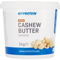 Natural Cashew Butter, Smooth, Tub, 1kg