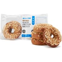 Dr Zak's High Protein Bagels, Pack of 4 (400g), Multigrain & Seed