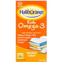 Haliborange Kids Omega 3 Orange Syrup 200ml