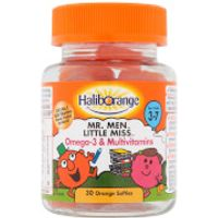 Haliborange Mr Clever Omega 3 & Multivitamins Softie - 30 Orange Softies