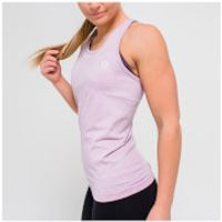 IdealFit Seamless Vest Tank Top - Pink - S - Pink