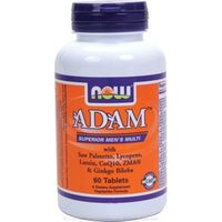 NOW Foods ADAM Superior Mens Multiple Vitamin - 60 Tabs