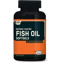 ON Fish Oils - Enteric Coated 200 Softgels (December 2016 Dated)