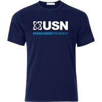 USN Challenge Yourself T-Shirt - Navy Blue