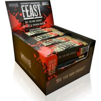 Warrior FEAST Protein Flapjacks - 12 Bars