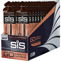 SiS GO Energy + Double Caffeine Gel 60ml 30 Pack - Double Espresso