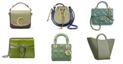 2021夏季包包「抹茶色」推薦Top10!Gucci 、Celine、Prada...Chloe「C Bag」櫃上詢問度熱潮不減