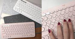 辦公桌一秒變IG打卡背景!手機也可使用「復古打字機鍵盤」,少女們搶著要!