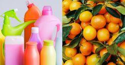 """「自製清潔劑」 教你5種在家輕鬆做!白醋、蘇打水真的是""""萬用"""",檸檬橘子吃完不要丟"""
