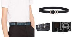 精品皮帶推薦Top8!父親節首選Dior、LV、Berluti...,Logo老花、全黑、雙色款老爸最愛!