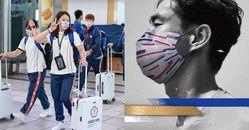 2020東京奧運中華隊口罩成亮點!戴資穎、莊智淵、郭婞淳、楊勇緯...同款8/11開賣,紅、白、藍色系就是愛台灣!