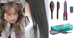 自然捲救星來了!5大超夯「直髮梳」讓你變Pro級美髮師,有「這款」根本不用去