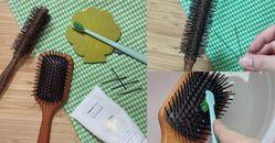 【神儂實驗室】梳子清潔掌握3點!編輯親試超實用Tips,洗面乳比洗髮精更好用