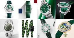 """2021腕錶推薦""""綠色系""""Top 11!Cartier、Hermès…Rolex這支終年熱賣"""