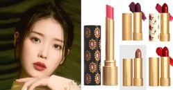 Gucci唇膏IU最愛這5款!「國民女神」這款色招桃花,傾色琉光412想買還得碰運氣