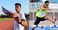 2020東京奧運跨欄男神「陳傑」,以國手爸爸為榜樣,連霸快腿王3度踏上奧運望再刷紀錄!