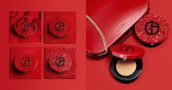 Giorgio Armani紅氣墊4種新包裝太難選!「完美絲絨持久氣墊 」大理石紅、鑽石光、皮革...易烊千璽也搶收藏