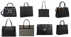 「黑色通勤包」推薦Top16!Gucci、Dior、Fendi到LV...開會到約會都適合,讓妳一秒變成時髦OL