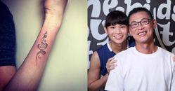 戴資穎奧運奪銀後盾!刺青含義來自爸爸這句話,還有全家人的力量!