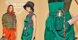 Prada戶外系列單品太迷人!服裝到餐具全美翻,這件「綠色圍裙」根本是星巴克制服時尚版!