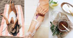 腿毛會越刮越多?專家破解除毛3大迷思,脫毛膏、除毛刀、蜜蠟不同膚質這樣選!