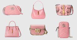 iPhone13寶寶粉賣到翻!精選7款Gucci粉紅包包推薦,手機包、相機包、半月包⋯夢幻美包狙擊粉紅少女心!