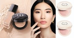 Dior氣墊粉餅唯一推薦這款! 「Lady Dior」包包藤格紋皮革手感超細緻,底妝使用展現超完美水潤光感