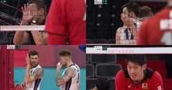 2020東京奧運義大利隊討論戰術登Twitter熱搜,日本隊滿臉問號?笑噴「是國小生在打排球嗎」